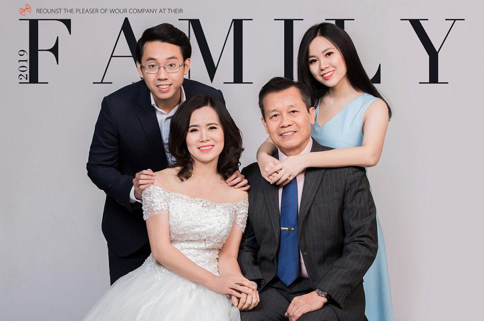 Quà Tặng Chụp ảnh kỷ niệm gia đình 2019